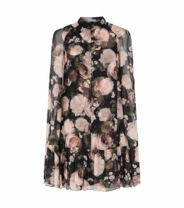 Contstantine Silk Cape Dress