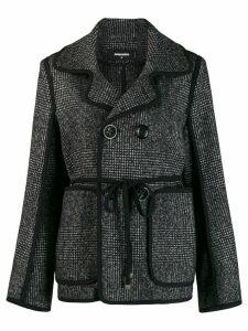 Dsquared2 tie waist jacket - Black