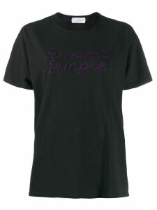 Giada Benincasa embroidered T-shirt - Black