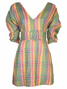 Nicholas belted mini dress - Multicolour