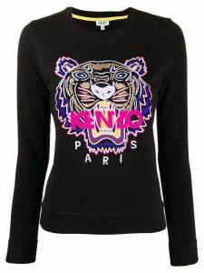 Kenzo slim logo sweatshirt - Black