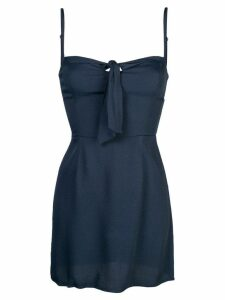 Reformation Helm mini dress - Blue