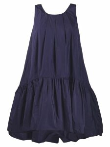 P.A.R.O.S.H. scoop neck swing dress - Blue