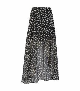 Slvina Draped Skirt