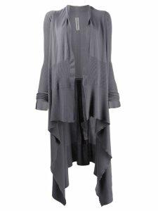 Rick Owens long cardigan - Grey