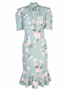 Sachin & Babi printed Abby midi dress - Green