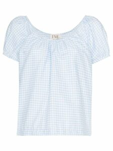 Eve Denim Camille gingham blouse - Blue