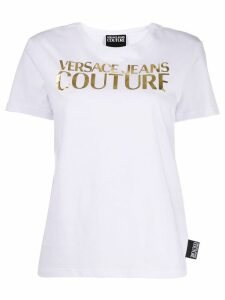 Versace Jeans Couture printed logo T-shirt - White
