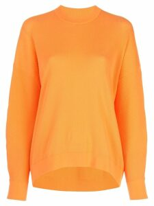 Tibi sculpted sleeve jumper - Orange
