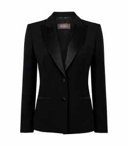 Silk Trim Blazer