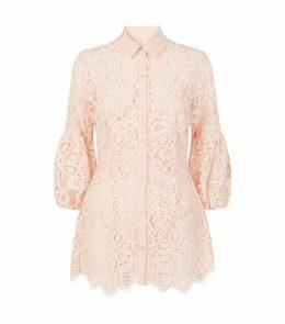 Lace Full-Sleeve Shirt
