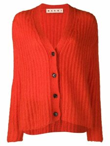 Marni knitted cardigan - Red