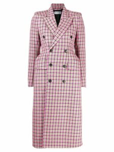 Balenciaga double-breasted coat - Pink