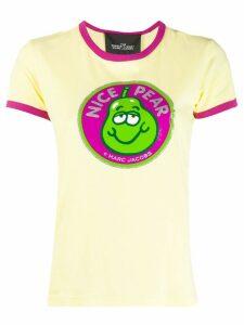 Marc Jacobs Nice Pear print T-shirt - Yellow