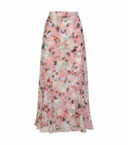 Floral Shea Midi Skirt