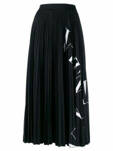 Valentino VLTN printed midi skirt - Black