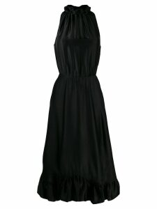 MSGM sleeveless flared dress - Black