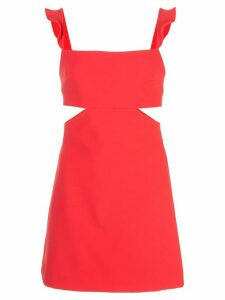 Likely cutout detail mini dress - Red