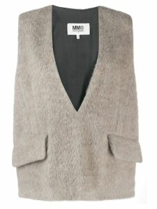 Mm6 Maison Margiela sweater vest - Brown