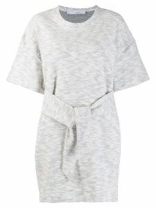 Iro waist-tied dress - White