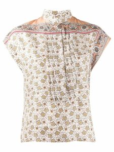 Chloé bandana print shirt - White