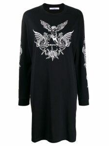 Givenchy logo T-shirt dress - Black