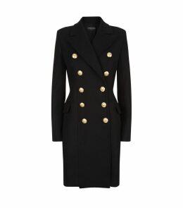 Wool-Cashmere Longline Coat
