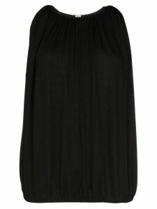 Toteme pleated vest top - Black