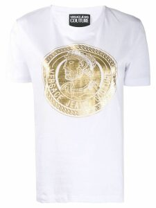 Versace Jeans Couture coin print T-shirt - White