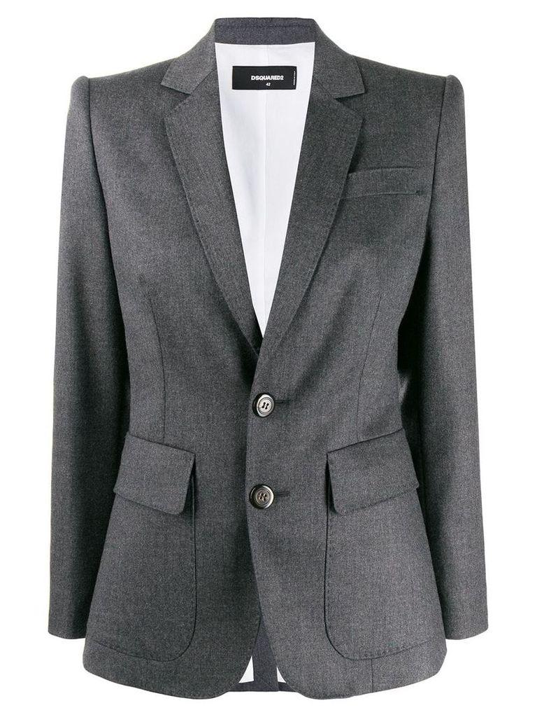 Dsquared2 plain blazer - Grey