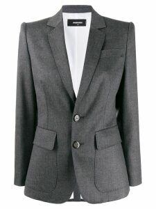 Dsquared2 plain blazer - Grey