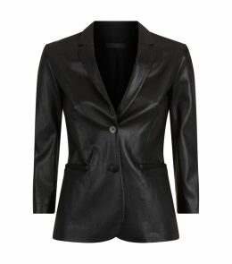 Nolbon Leather Blazer