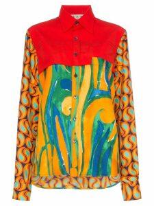 Marni abstract print shirt - Y5725 Multicoloured