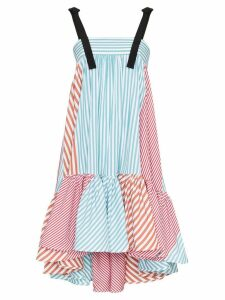 Silvia Tcherassi Calantha stripe flared dress - Multicolour