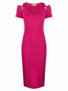 Michael Michael Kors fitted midi dress - Pink