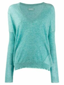 Zadig & Voltaire v-neck sweater - Green
