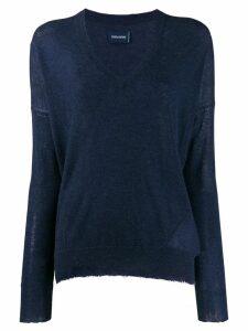 Zadig & Voltaire v-neck sweater - Blue