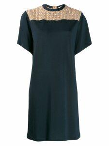 Chloé flared mini dress - Blue