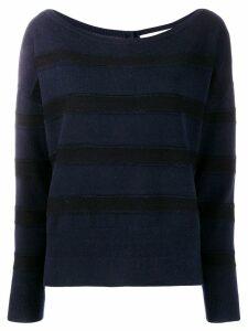 Dorothee Schumacher striped sweateer - Blue