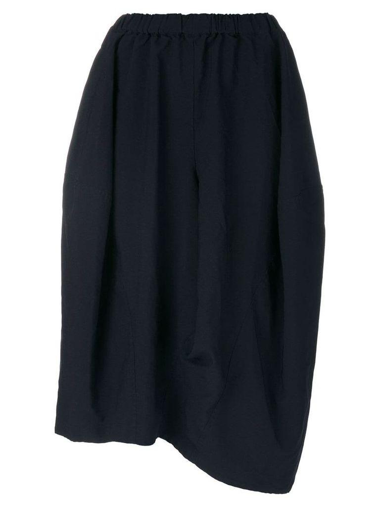 Comme Des Garçons Comme Des Garçons asymmetric skirt - Blue