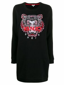 Kenzo Tiger sweater dress - Black