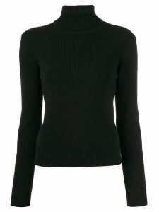 Saint Laurent cashmere ribbed turtle neck sweater - Black