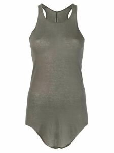 Rick Owens slim fit sheer tank top - Grey