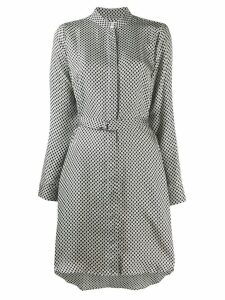 Michael Michael Kors checkered pattern dress - Black