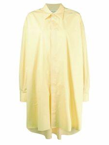Maison Margiela oversized shirt - Yellow