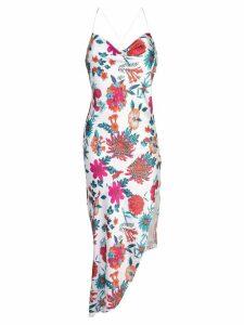 Haney Goldie floral-print dress - White