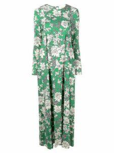 La Doublej Trapezio dress - Lilium Verde