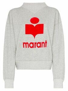 Isabel Marant Étoile Moby logo sweatshirt - Grey