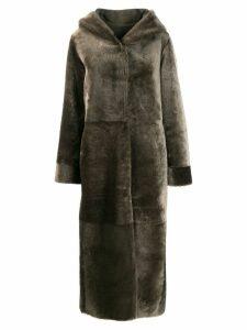 Liska Tal longline coat - Green
