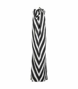Kaia Stripe Gown